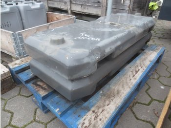 Counterweight CLAAS 2x 400 KG