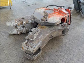 Hydraulic Rotating Concrete Pulverizer 90mm Pin to suit 30 Ton Excavator - demolition shears