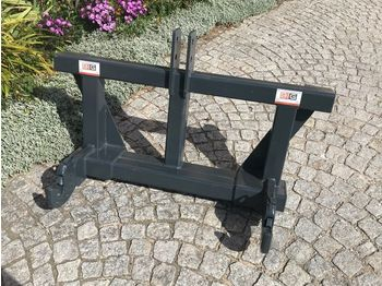 Euro Adapter mit 3 Punkt Aufnahme KAT2  - front loader for tractor
