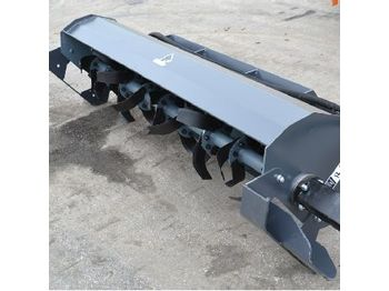 Unused 2019 Tiller to suit Skidsteer Loader - hydraulic hammer