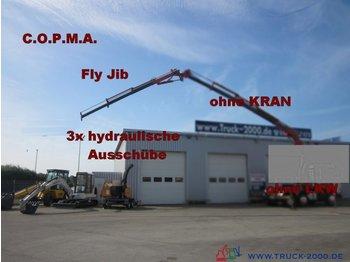 COPMA Fly JIB  3 hydraulische  Ausschübe - γερανός-παπαγάλος
