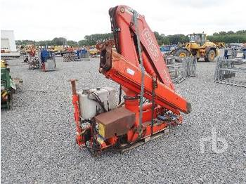 FASSI F105 Hydraulic Extendable - loader crane
