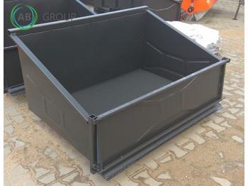 Metal-Technik Kippmulde 2 m/Transport chest/ Транспортный ящик 2 м/Plataforma de carga - παρελκόμενα