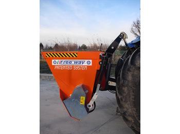 SALZSTREUER SPARGISALE AUTOCARICANTE SP160B - sand/ salt spreader