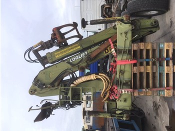 DIEBOLT LOGLIFT 21T - truck mounted crane
