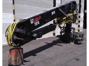 Loglift 281 S83 - truck mounted crane
