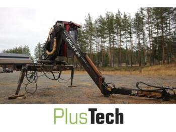 Loglift 95 - truck mounted crane