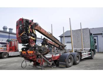 Loglift 95 S T 95 S T - truck mounted crane