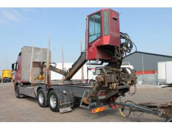 Loglift 96S-78 R - truck mounted crane