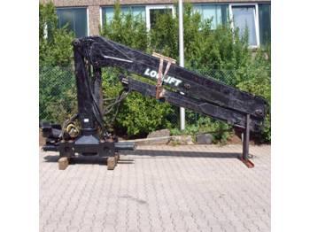 Loglift F241 S84A - truck mounted crane