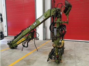 Loglift F60 S - truck mounted crane
