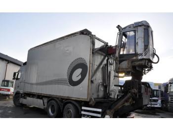 Loglift F96S GROTH KRAN  - truck mounted crane