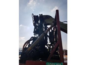 Loglift FT140S - truck mounted crane