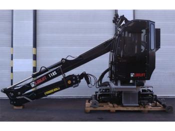 Loglift F 118ST 101 - truck mounted crane