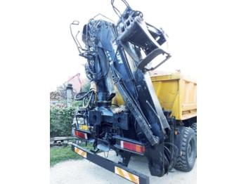 Loglift F 165 Z78  - truck mounted crane