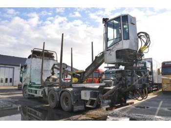 Loglift Kran 96 S  - truck mounted crane