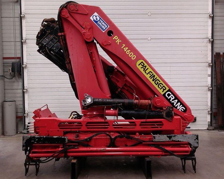 Truck mounted crane Palfinger PK 14600