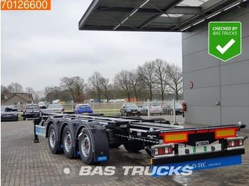 D-Tec Flexitrailer FT-LS-S *New Unused* Flexilock 2x20-1x30-1x40-1x45 - Container/ Wechselfahrgestell Auflieger