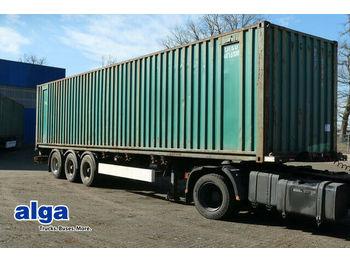 Kögel SW 24, Liftachse,2x20 1x30 1x40 Fuß,Luftfederung  - Container/ Wechselfahrgestell Auflieger