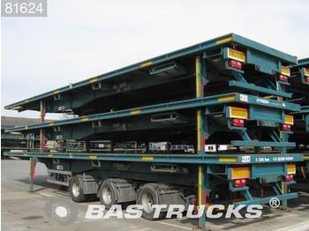 Tirsan 2-Lenkachsen Liftachse SC - Container/ Wechselfahrgestell Auflieger