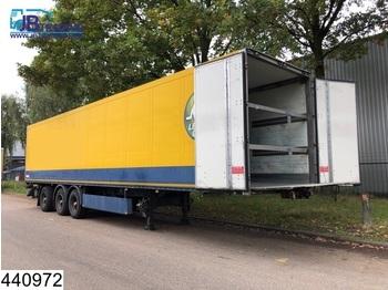 Schmitz Cargobull gesloten bak Front and back doors, Front and rear loader, Disc brakes - koffer auflieger