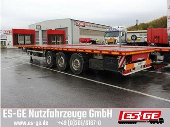 Plattform Auflieger ES-GE 3-Achs-Sattelanhänger, Containerverriegelungen