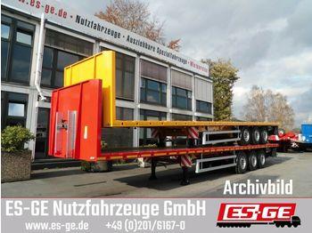 Plattform Auflieger ES-GE 3-Achs-Sattelanhänger - Rungen