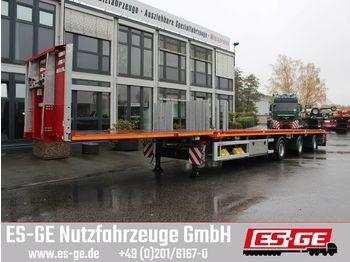Plattform Auflieger Faymonville 3-Achs-Megatrailer - tele. - hydr. gelenkt