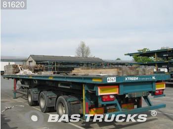 Tirsan 2-Lenkachsen Liftachse SC - Plattform Auflieger