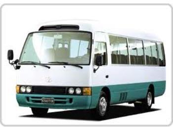TOYOTA COASTER Naked chassis + motor NEW - autobus urban