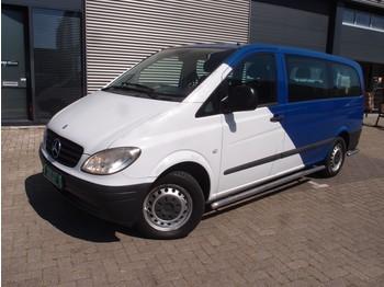 Mercedes-Benz Vito 115 CDI 72.000km kombi bpm en btw vrij airco absolute nieuwstaat ex overheid marge 9-pers combi camper? - minibus