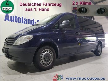 Minibus Mercedes-Benz Vito 115 CDI Extra Lang 7 Sitze 2 x Klima 1.Hand: zdjęcie 1