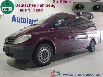 Minibus Mercedes-Benz Vito 115 CDI Extra Lang 7 Sitze 2x Klima TÜV NEU