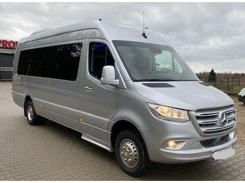 Starppilsētu autobuss MERCEDES-BENZ 516 CDI 09 Sprinter Linienausführ. 20 Pl Schalt.Klima Bj 2020