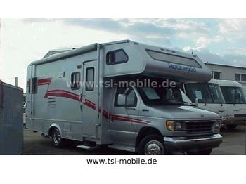 TSL Landsberg/ Rockwood Frontier 1244, Dachklima, Anhängerkupplung  - auto-caravana