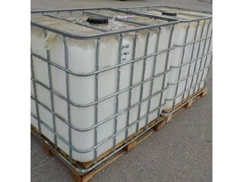 Baugeräte 1000 Litre Plastic IBC (2 of): das Bild 1