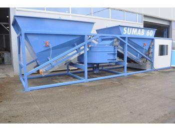 SUMAB EASY TO TRANSPORT! K-60 (60m3/h) Mobile Plant - Betonmischanlage
