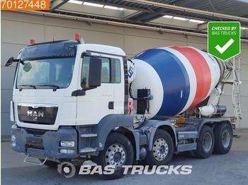 Betonmischer MAN TGS 32.400 8X4 SteelSuspension 9 m3 Euro 5