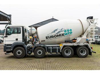 Betonmischer MAN TGS 32.420 8x4 /EuromixMTP 9m³ EURO 6