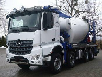 Betonmischer Mercedes-Benz AROCS 3243 8x4 EURO6 Pumi Schwing 26M