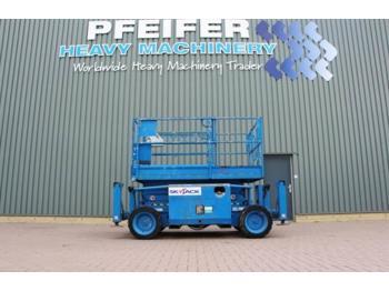 Scherenbühne SkyJack SJ6826RT Diesel, 4x4 drive, 9.9m working Height, R: das Bild 1