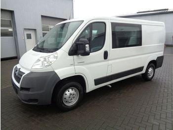 Gesloten bestelwagen Citroën Jumper Kasten 30 L2H1 HDi 100 Doka 6 Sitzer
