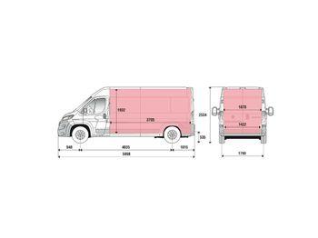 Gesloten bestelwagen Fiat Ducato 35H L4H2 Kasten 2.3 MJet 140 Euro 6D-Temp