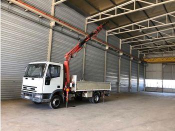 IVECO ML75 con Gru Benelli 5520/2S2 - gesloten bestelwagen
