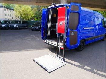 Gesloten bestelwagen MERCEDES-BENZ Sprinter Maxi Ladebühne und Handwerkerklappe