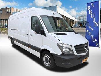 Gesloten bestelwagen Mercedes-Benz Sprinter 314 CDI Maxi L3 Autm Airco Aluminium legborden / schappen
