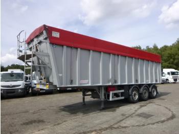 قلابة نصف مقطورة Benalu Tipper trailer alu 50 m3 + tarpaulin