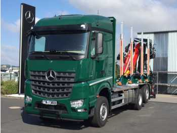 Mercedes-Benz Arocs 2751 L 6x2 (6x4) HAD + Cranab TZ12.2 + Ho  - houttransport