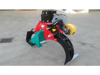Bosbouwmachine TECNOMECCANICA Pinza con motosega ad uso fisso mod.TP135RFP