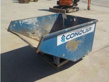 2017 Conquip Skip to suit Forklift - betonmixer